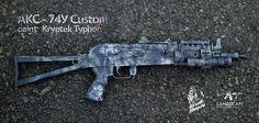 AKC-74У Custom paint Kryptek Typhon