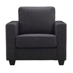 Joseph Armchair - Charcoal - Domus Range 24% OFF | $399.00 - Milan Direct