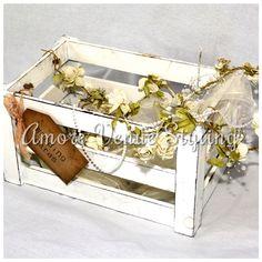#wedding #decor #postbox #crate