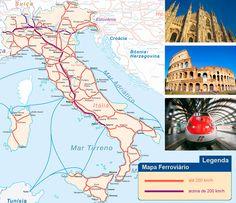 Trem na Itália | TT Operadora