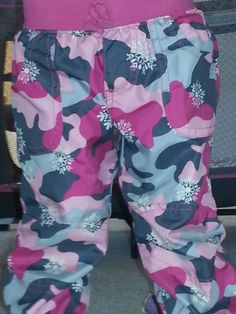 Cute camo. pants for toddlers clothing