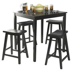 TMS Belfast 5 Piece Pub Set & Reviews | Wayfair