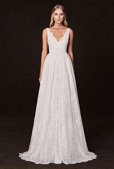 Brides.com: . Wedding dress by Victoria Kyriakides