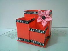 DIY : #11 Cardboard Pencil Holder ♥