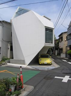 Cute Space Saving House In Tokyospace utilization for house