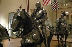 NYC - Metropolitan Museum of Art: Armor for Man and Horse