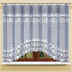 Záclona kusová Elizabeth 150 x 300 cm Valance Curtains, Christian Poems, Home Decor, Blinds, Decoration Home, Room Decor, Home Interior Design, Valence Curtains, Home Decoration
