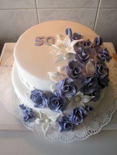 Sweets by Rita: 50 szülinapi torta