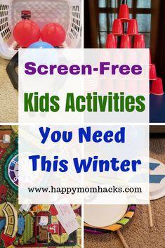 Fun Rainy Day Activities for Kids & Indoor Games   Happy Mom Hacks