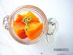 Fruit in a jar