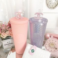 Baby Pink Aesthetic, My Christmas List, Cute Cups, Starbucks Tumbler, Pink Bling, Rich Girl, Pink Love, Pink Fashion, Girly Girl