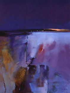 Blue Horizon Art Print by Peter Wileman