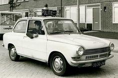 1968 Eindhoven NL DAF 55 model policecar with Variomatic transmission. ☺
