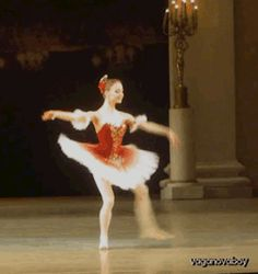 Anastasia Lukina performing in 'Paquita' and 'Konservatoriet' (Conservatory) during the Vaganova Ballet Academy's graduation performance.