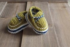 Crochet Shoes Sailor Sam Loafers - Pattern