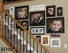 love large pic layout on wall