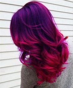 We've gathered our favorite ideas for 50 Amazing Purple Ombre Hair Ideas My New Hairstyles, Explore our list of popular images of 50 Amazing Purple Ombre Hair Ideas My New Hairstyles in pink purple hair. Blue And Red Hair, Pink Purple Hair, Brown Ombre Hair, Ombre Hair Color, Hair Color Balayage, Cool Hair Color, Purple Ombre, Violet Ombre, Hair Colour