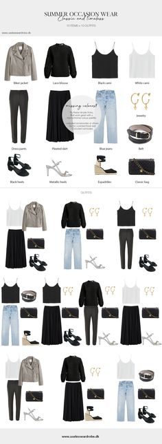 Summer occasion/party wear. #10x10 #10x10challenge #summer #party #outfit #outfits #minimalist #capsulewardrobe