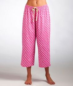 Libby Dot Capri Pajama Pants