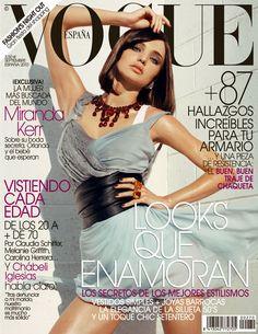 Miranda Kerr in Dior by Tom Munro Vogue España September 2010