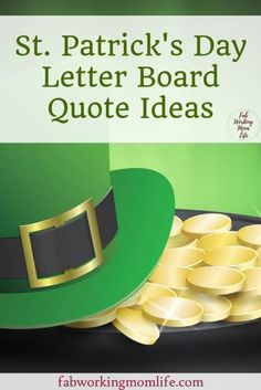7 ideas for the Lucky St. Patrick & # s Day – Fab Working Mom Life wall – Wanderlust St Patricks Day Quotes, Irish Blessing, Craft Activities For Kids, Kids Crafts, Lucky Day, Holidays With Kids, Just Friends, St Pattys, Working Moms
