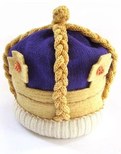 The Miniature Knit Shop Knitted Royal Crownnotonthehighstreet.comWhat better way to toast to the new heir to the thrown and you're very own bundle of joy than with a whimsical woolen crown. It may not be worth as much as the Crown Jewels, but it's certainly cuter.