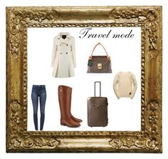 """""""Travel mode"""" by enfashionistas on Polyvore featuring Louis Vuitton, Tory Burch, J Brand, Superdry and travelmode"""