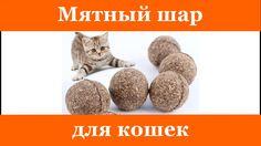 Мятный шар для кошек