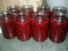 Homemade raspberry jam!