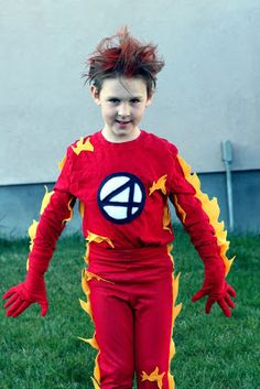 The Human Torch - homemade costumes