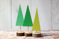 Wooden Christmas Tree, Christmas Decorations, Christmas Mantle decorations, Christmas Party, Christmas Gift Hostess, Log Slice Wood Tree