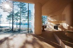 atelier oslo projects the norderhov cabin in a norwegian forest