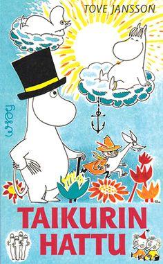 1948 Taikurin hattu (alkuperäinen ruotsinkielinen nimi Trollkarlens hatt), kolmas osa Tove Janssonin Muumi-sarjasta julkaistaan.