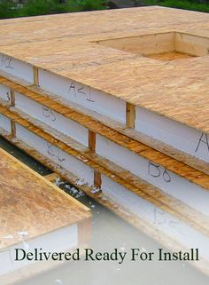 The skinny on sips construction building and house for Sip panel manufacturers california