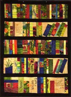The Bookshelf Quilt Pattern By Frond Design Studio