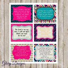 Prayer Cards, Prayer, Scripture cards, diy, printable cards, Scripture Art bible verse, Printable Prayer Cards Set 2, Overcoming Fear by glorydesigns on Etsy https://www.etsy.com/listing/173907198/prayer-cards-prayer-scripture-cards-diy
