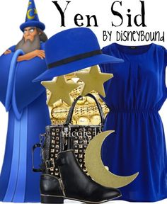 Magician Yen Sid dress from Fantasia (hint - spell his name backwards)