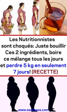 Les Nutritionnistes sont choqués: Juste bouillir Ces 2 ingrédients, boire ce mélange tous les jours et perdre 5 kg en seulement 7 jours! (RECETTE) #recetterégime #nutritionnistes #remede #perdredupoids #maigrir Sixpack Training, Nutrition, Under The Sea, Physique, Believe, Health Fitness, Yoga, Memes, Children
