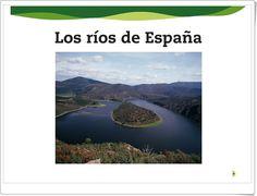 """""""Los ríos de España"""" (Presentación interactiva de Ciencias Sociales de Primaria)"""