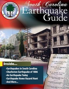 The South Carolina Earthquake Guide is now available at every @Walgreens store in the state!  Pick up a copy in advance of the 2014 Great Southeast ShakeOut or download here: tinyurl.com/SCEQGUIDE