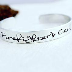 Firefighter's Girl Bracelet