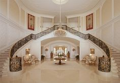 Aaron & Candy Spelling's $150 million mansion <3 - i wishh .