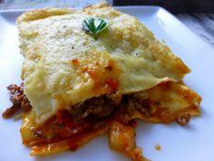 Lasagne met courgette en aubergine