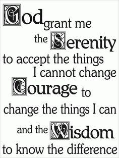 Gebed voor sereniteit - Leef in Aandacht - Mindfulness en Compassie Weblog - Gebed voor sereniteit