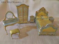 miniatures in gold - Google Search