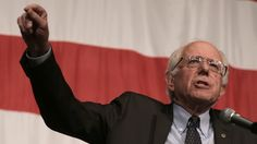 Democratic presidential candidate Sen. Bernie Sanders, I-Vt., speaks at the Iowa Democratic Wing Ding at the Surf Ballroom Friday, Aug. 14, 2015, in Clear Lake, Iowa. (AP Photo/Charlie Riedel)
