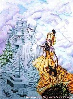 Oshun y Obatala