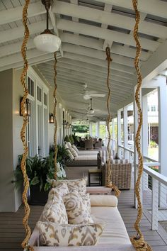 living southern porches southern homes southern living back porches