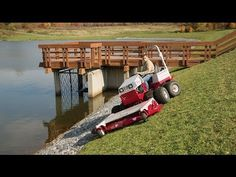 58% Grade Slope Mower by Ventrac