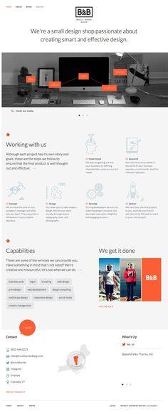 Brault & Barnes website